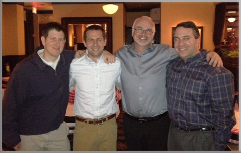 Dan Engel, Ryan Dewell, Ken White, and Jason Foodman