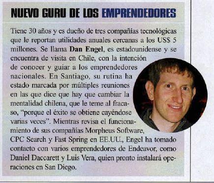 Dan Engel news article