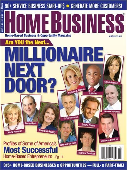 Home Business Magazint Aug 2011